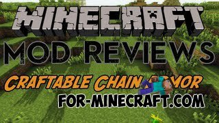 Craftable Chain armor script Minecraft Pocket Edition 0.10.0