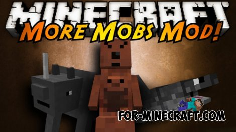 More Mobs mod for Minecraft PE 0.9.5