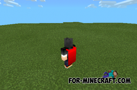 Raincoats mod for Minecraft PE 0.10.0!