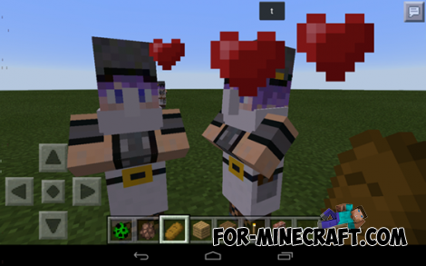 Cute Villagers mod for Minecraft PE 0.10.0