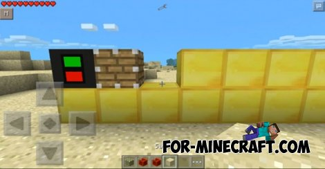 «Redstone» mod (+TMI) for Minecraft PE 0.10.0