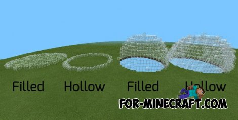 Worldedit PE Script for Minecraft PE 0.10.0