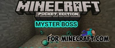 Mystery Boss mod for Minecraft PE 0.10.4