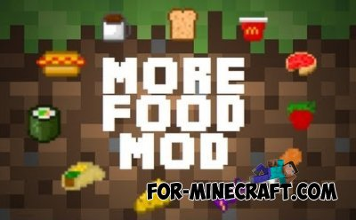 More foods for Minecraft PE 0.10.4