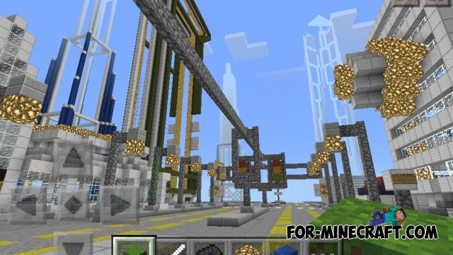 New York City 3005 map for Minecraft Pocket Edition 0 10 4