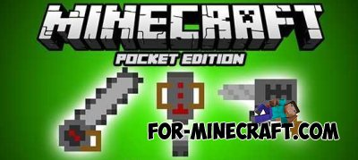Power Tools mod v.3 for Minecraft PE 0.10.4