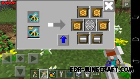 Factorization mod 3.5 for Minecraft Pocket Edition 0.10.4