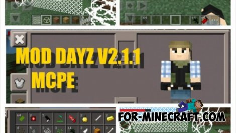 DayZ mod for Minecraft PE 0.10.4