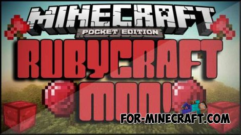 RUBYCRAFT mod for Minecraft PE 0.10.4