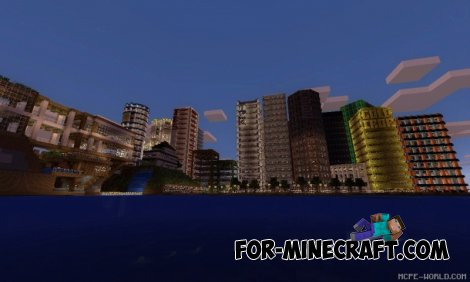 Egaland map v1.5 for Minecraft Pocket Edition 0.10.X