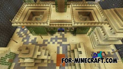 Capture the Wool map for Minecraft Pocket Edition 0.10.4