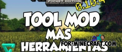 Tool Mod for Minecraft Pocket Edition 0.10.4