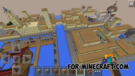 Assassin 's Creed 2 map for Minecraft Pocket Edition 0.10.4
