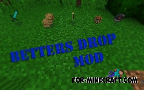Betters Droper mod for Minecraft PE 0.10.4