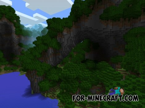 Paradise Cove map for Minecraft Pocket Edition 0.10.4