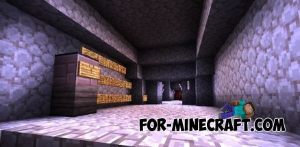 NIGHTMARE Z map for Minecraft Pocket Edition
