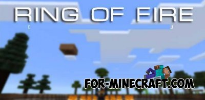 Ring of Fire map for Minecraft PE 0.10.4