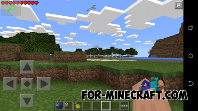 Zoom mod for Minecraft PE 0.10.5