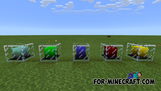 Beacons Realistic Color mod for Minecraft Pocket Edition 0 10 5