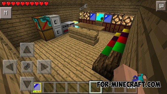 Furniture Mod For Minecraft Pocket Edition 0 10 5