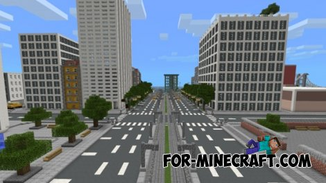 TimCity map for Minecraft PE 0.10.4