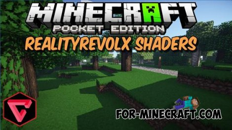 Beautiful shaders RealiTyRevolX for MCPE 0.10.4