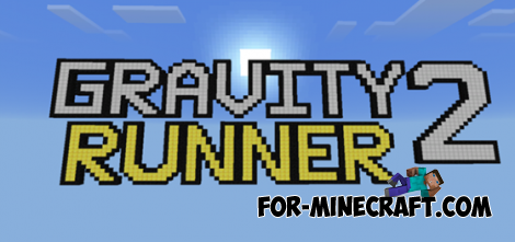 Gravity Runner 2 map for Minecraft