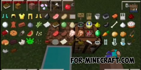 Drogas mod for Minecraft PE 0.10.4