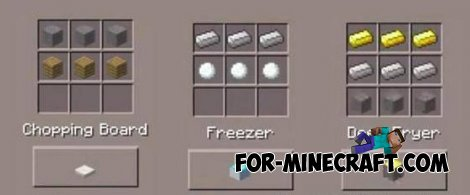 KitchenPE mod for Minecraft PE 0.10.4 / 0.10.5