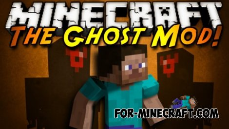 Ghost Mode mod for Minecraft Pocket Edition 0.10.5