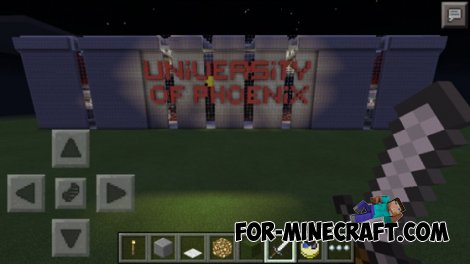 University of Phoenix Stadium map for Minecraft PE 0.10.5