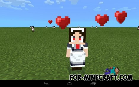 littleMaid Mod for Minecraft PE 0.10.5