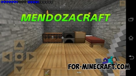 Mendozacraft texture pack for Minecraft PE 0.10.4 / 0.10.5