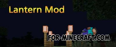 Lantern mod for Minecraft PE 0.10.5