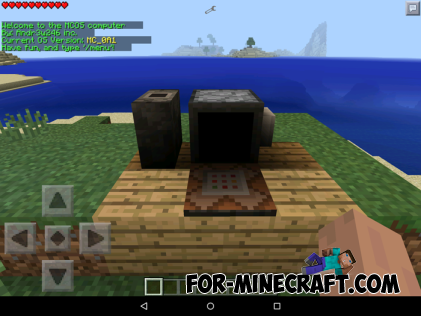 Computer mod for Minecraft Pocket Edition 0.10.5
