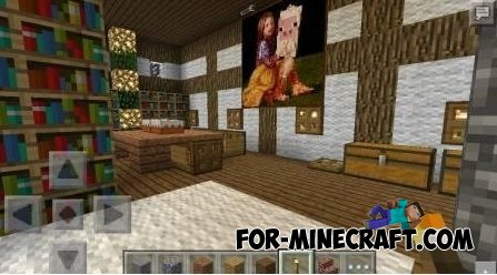 Medieval Palace map for MCPE 0.10.X