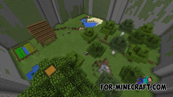 The Maze Runner map for Minecraft PE 0 10 5