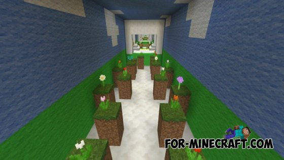 Weather Parkour map for Minecraft PE 0 10 5