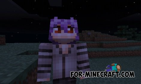 Girls Mobs mod for Minecraft Pocket Edition 0.10.5