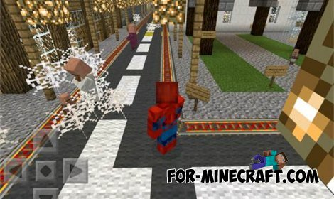 Spider-Man mod for MCPE 0.10.5