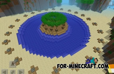 Hunger Games and island map for Minecraft PE 0.10.4 / 0.10.5