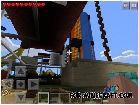 Super Parkour map for MCPE 0.10.X