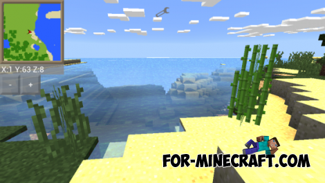 Mod pack with shaders for Minecraft Pocket Edition 0.10.5