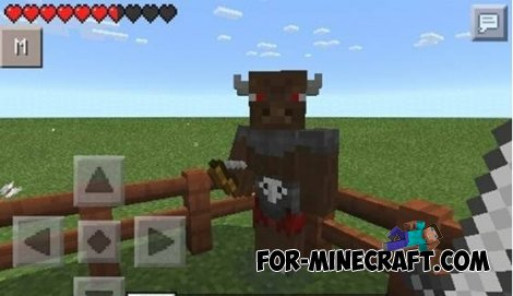 More mobs pack for Minecraft Pocket Edition 0.10.4 / 0.10.5