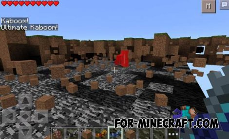 Super Tools mod for Minecraft PE 0.10.5