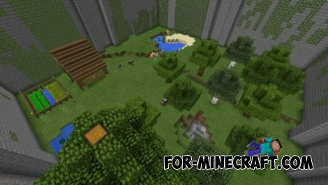 The Maze Runner map for Minecraft PE 0.10.5