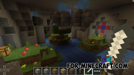 Treasure Land updated map for MCPE 0.10.5