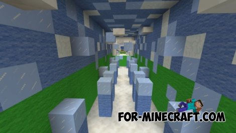 Weather Parkour map for Minecraft PE 0.10.5