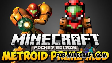 Metroid Prime mod for Minecraft Pocket Edition 0.10.5