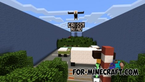 Crossy Road map for Minecraft PE 0.10.5